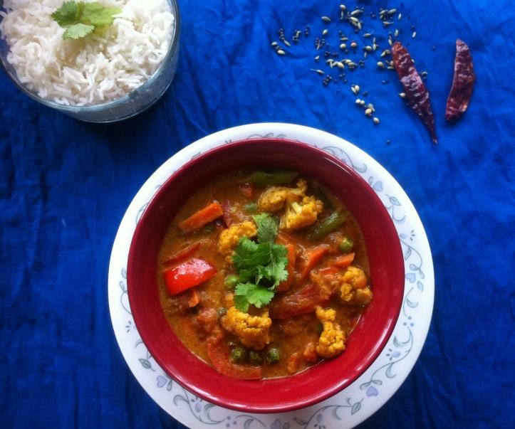 Achari Masala Curry