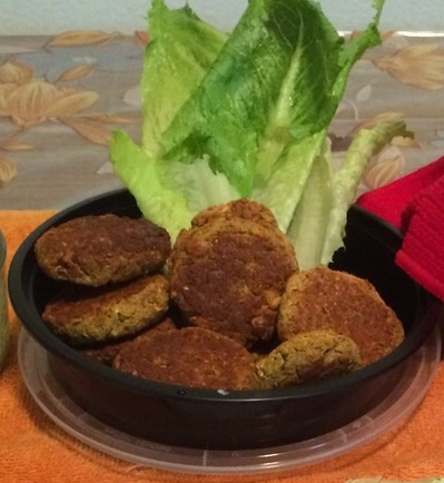 Baked Falafel Patties