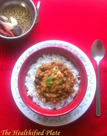 Goan Egg Drop Curry