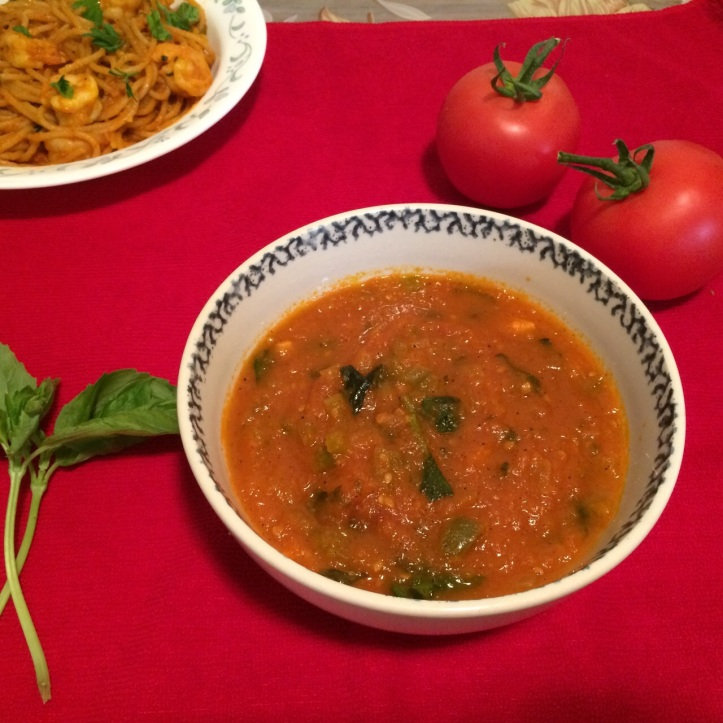 Marinara Sauce with Tomatoes and Basil