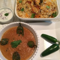 Spicy Green Jalapeno Gravy (Mirchi Ka Salan)