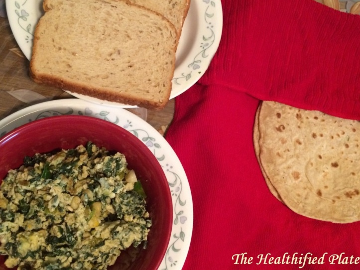 Spinach Egg Fry