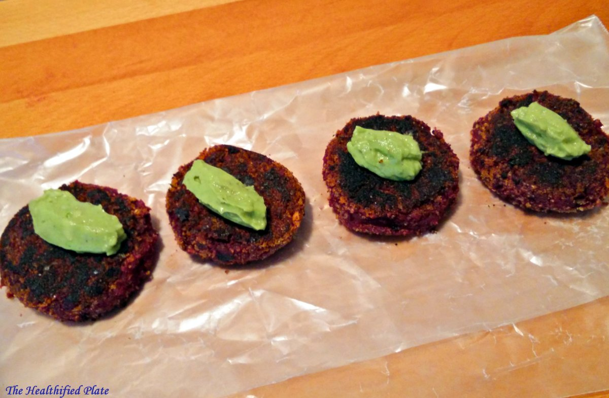 Beet and Sweet Potato Patties