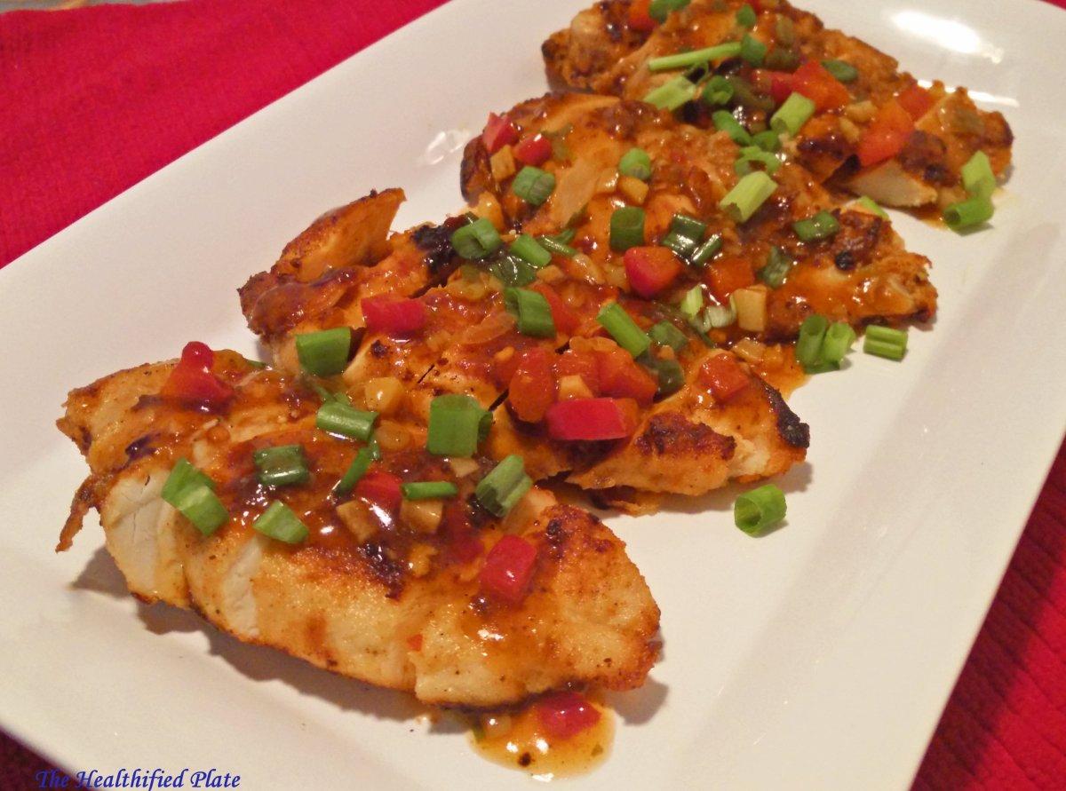 Healthy Chili Chicken