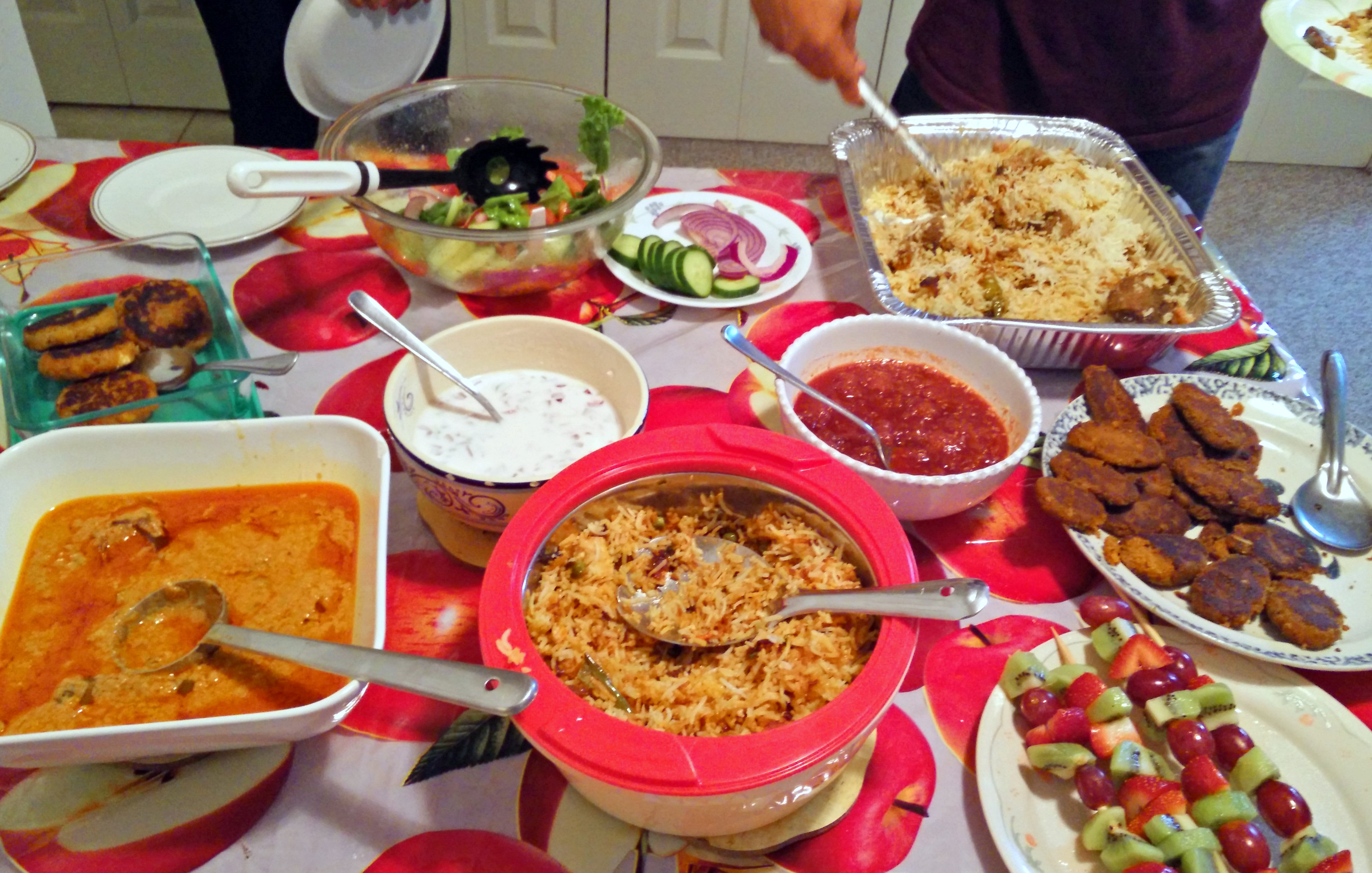 Eid Dinner and Shami Kebabs – The Healthified Plate