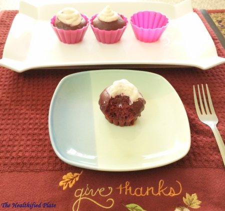 Red Velvet Cupcakes with Ragi Flour and Beetroot
