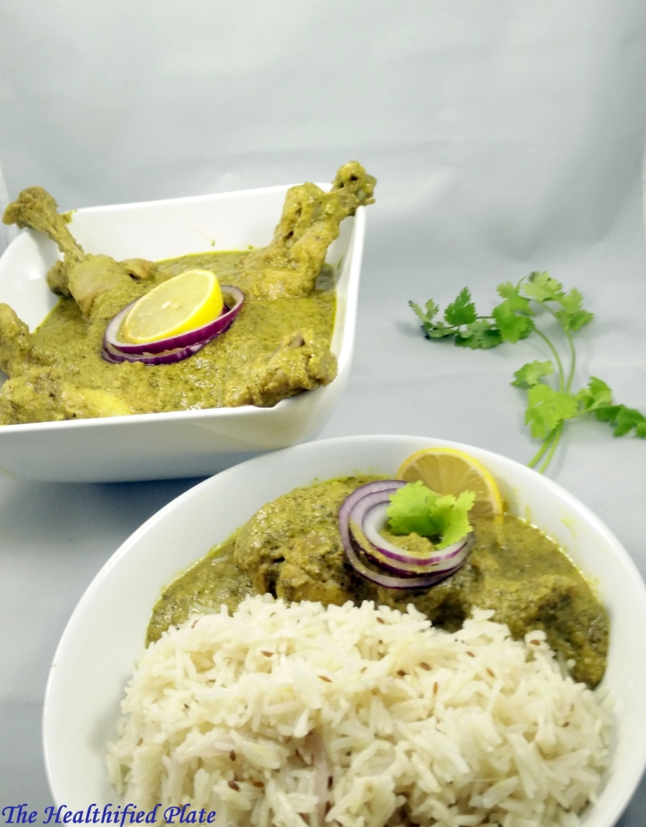 Indian Green Curry Chicken