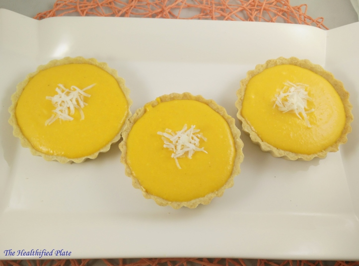 Carrot Rice Pudding Tarts-ff2