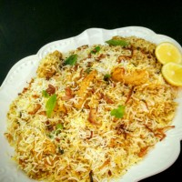 Hyderabadi Chicken Dum Biryani (My family recipe)