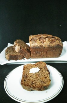 Orange scented Chocolate Banana Bread